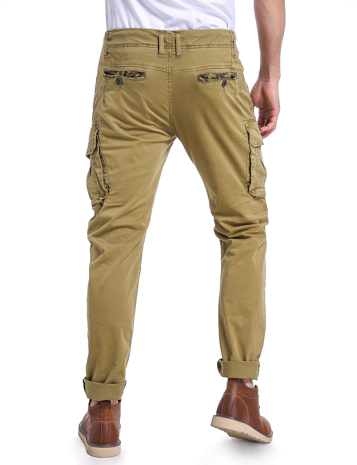 606054fcd1 Eaglide Mens Slim Fit Chino Jogger Pants, Mens Athletic Boys Casual ...